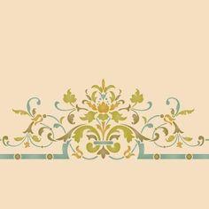 Ceiling Stencils | Victorian Ceiling Center | Royal Design Studio