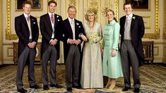 In Windsor Castle after the wedding of Prince Charles and Camilla Parker Bowles on 9th April 2005