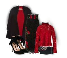 """""""""""A Night at the Opera"""" (outfitonly)"""" by onesweetthing ❤ liked on Polyvore featuring Burberry, Dolce&Gabbana, Salvatore Ferragamo, Gianvito Rossi and Alexander McQueen"""