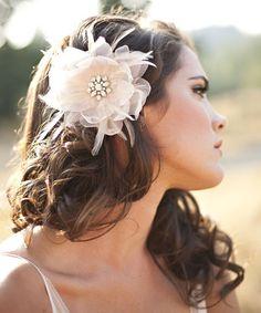 The Renee- Romantic Hair Flower