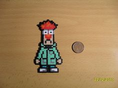 Beaker perler bead i need to make this for my friend