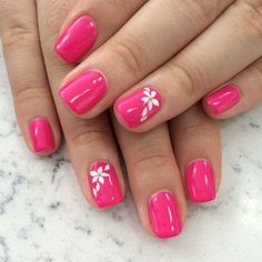 Summer Nail Art Ideas to give you that invincible shine and confidence - Hike n Dip Exciting Summer nail art for you to get into the vacation mode. I am sure these summer nail designs will make you ready for your summer parties and trips. Nail Art Designs, Colorful Nail Designs, Nail Designs Spring, Spring Design, Nail Art Flowers Designs, Pedicure Designs, Nail Art Cute, Cute Nails, Pretty Nails