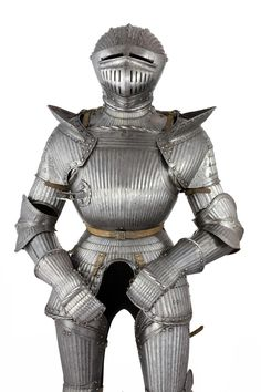 A Fluted Full Armour in the South German Maximilian Style of Circa 1520-30, Second half of the 19th century