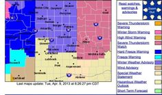 Winter Weather Advisory for Panhandle - http://www.texasstormchasers.com/2013/04/09/winter-weather-advisory-for-panhandle/