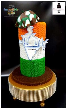 I hav depicted colours and sequence of Indian Flag with hundreds & thousands of knots. Each knot depicts our unity in diversity and our strong. How To Make A Ribbon Bow, India Cakes, Freedom Fighters Of India, India Poster, Indian Independence Day, Flag Cake, Indian Flag, Cake Business, Republic Day