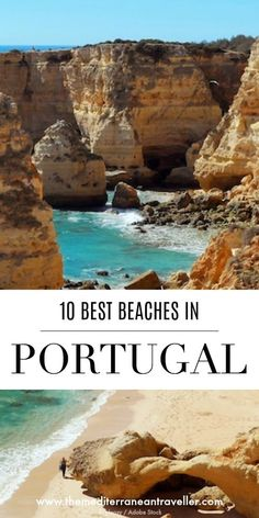 Portugal is home to mile upon mile of truly epic beach scenery, but which are the best? Here are 10 of its most beautiful beaches to get you started, from the top spots of the Algarve to wilder shores and surf of the Atlantic coastline, the postcard-worthy fishing village of Carvoeiro, the striking waterfront chapel of Miramar, and unusual red cliffs at Falesia. #portugal #beach #europe