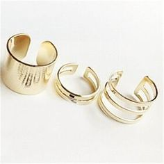 2015 New 3Pcs/Set Fashion Top Of Finger Over The Midi Tip Finger Above The Knuckle Open Ring For women Fashion Jewelry-in Rings from Jewelry on Aliexpress.com | Alibaba Group