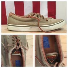 A personal favorite from my Etsy shop https://www.etsy.com/listing/461891210/vintage-keds-khaki-green-boatshoes