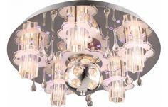 Deckenleuchte 7-flammig Chrom, Glasbehang | Lampen online | POCO