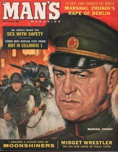 Man's Magazine October 1959