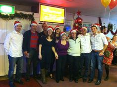 The team at Christmas 2013!