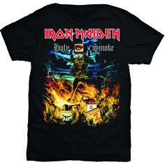 Iron Maiden Men's Tee: Holy Smoke Wholesale Ref:IMTEE46MB
