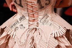 Paris Haute Couture Fashion Week- Backstage at Franck Sorbier - FocusOnStyle | Sharon Haver