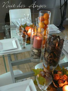 ... des anges décoratrice de mariage décoration de table automne 004