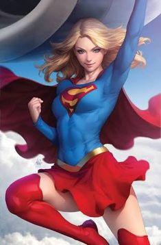 Supergirl updraft