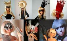 Gaga Barbie dolls.