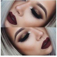 Gold and wine #mycollection #evatornadoblog #makeupideas #bestlooks @evatornado