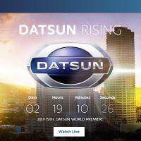 O regresso da Datsun
