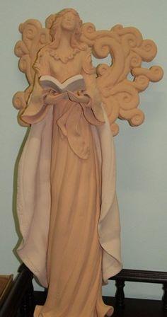 Anjos & Obras diversas Atelier do Netinho Esculturas em Cerâmica - Atelier do Netinho Santeiro - Esculturas em Argila