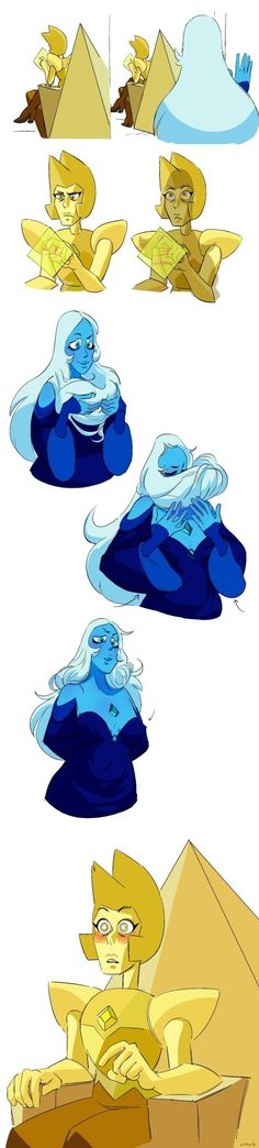 Best Collection of funny yellowdiamond pictures on iFunny Steven Universe Diamond, Steven Universe Drawing, Steven Universe Ships, Steven Universe Funny, Universe Art, Steven Univese, Pearl Steven, Fanart, Pokemon