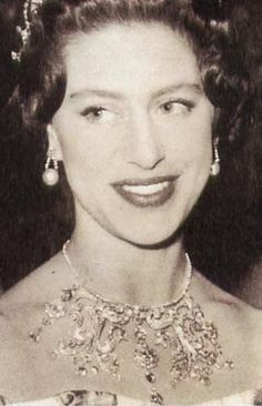 This tiara was made by Wartski in 1994 using three floral brooches given to Princess Margaret by her husband, Antony Armstrong-Jones, Earl of Snowdon on the occasion of the wedding in 1960. Description from tiara-mania.blogspot.com. I searched for this on bing.com/images