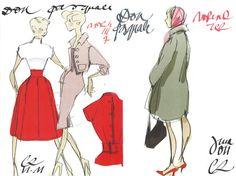 En avant première, les croquis des costumes de Christian Lacroix pour Don Pasquale (Actualité) | Opera Online - Le site des amateurs d'art lyrique