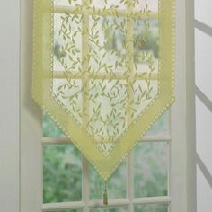 The Ideas of Summer Curtains for Smart and Decorative Windows Kitchen Window Treatments, Custom Window Treatments, Curtain Fabric, Drapes Curtains, Valances, Home Crafts, Diy Home Decor, Shades Blinds, Window Dressings