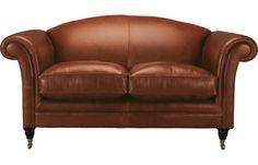 Gloucester Leather 2 Seater Sofa