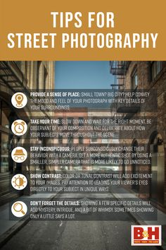 Check out our tips for what makes a compelling street photograph, what elements to look for while shooting, how to lead your viewer's eyes to your subject, and more. Learn Photography, Street Photography, Disney Movies To Watch, Sense Of Place, Entertainment, In This Moment, Eyes, Check, Instagram