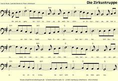 DIE ZIRKUSTRUPPE Peter Unbehauen Kinderlieder