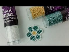 YouTube Ring Crafts, Bracelet Crafts, Bead Crafts, Beaded Necklace Patterns, Jewelry Patterns, Beading Patterns, Beaded Brooch, Beaded Rings, Beaded Jewelry
