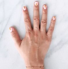 When your #mani matches your bracelet. Our #star #struck #bracelet spotted on @thezoereport