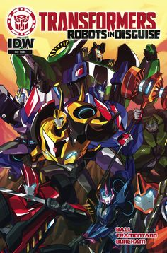 Transformers: Robots In Disguise Animated (2015) Issue #4
