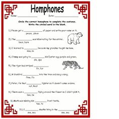 homonyms homophones activities homophones worksheets more homophones ...
