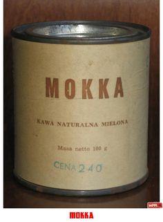 kawa MOKKA - etykieta zastępcza;-)