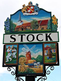 Village in Essex, England. House Name Plaques, Metal Signage, Storefront Signs, Art Village, Old Pub, English Village, Pub Signs, My Family History, My Kind Of Town