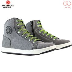 Motorcycle Boots men Road street casual shoes bato motocross Boots moto grey scoyco protective gear flax Microfiber 39-46