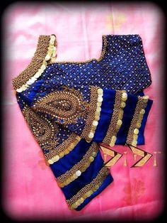 Dress Neck Designs, Bridal Blouse Designs, Saree Blouse Designs, Sleeve Designs, Stone Work Blouse, Silk Kurti Designs, Maggam Work Designs, Sari Design, Designer Blouse Patterns