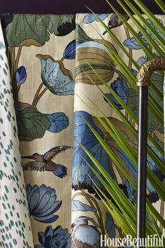 Beautiful Home Decor Items - Essentials to Have in Your House Home Decor Fabric, Home Decor Items, Home Decor Accessories, Fabric Art, Fabric Design, Chinoiserie Wallpaper, Fabric Wallpaper, New Home Essentials, Americana Home Decor