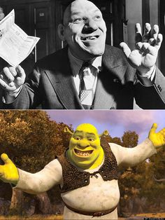 Meet Maurice Tillet, The Man Rumored To Have Inspired Shrek,Maurice Tillet (October 23, 1903 – September 4, 1954)[1] was a Russian-born French professional wrestler known as The French Angel. He was the inspiration for Shrek