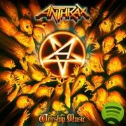Anthrax Worship Music on LP Worship Music is the long-awaited new studio album from Anthrax, one of the four original architects of speed and thrash-metal. Not only is Worship Music Anthrax's first st Thrash Metal, Big Four, Musica Online, Rock Y Metal, Devil You Know, Groove Metal, Rock Poster, Poster Poster, Pochette Album