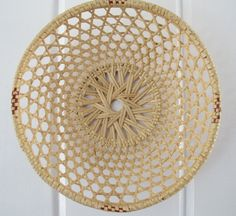 Vintage Decorative Woven Basket - Made in China by PortlandRevibe on Etsy