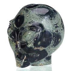 Alien Skull, Vase, Stone, Home Decor, Rock, Decoration Home, Room Decor, Stones, Vases