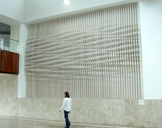 """paredes+aleman arquitectos: Sectioned """"Liquid Wall"""""""