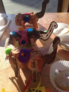 egg carton camel craft (thanks to Wixams Messy Church)