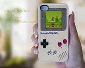 Nintendo Game Boy iPhone 4, iPhone 4 case, iPhone 4S case, iPhone cover, iPhone hard case Super Mario