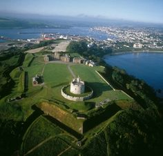Pendennis Castle,Cornwall, UK built by King Henry VIII