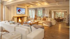 Chalet De Glisse - Book this luxury Chalet in Megeve, France through Ski In Luxury. Features hot tub, sauna, steam room and fireplace.