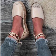Εσπαντρίγιες Valia τρουκς μπεζ Espadrilles, Slip On, Flats, Sneakers, Shoes, Fashion, Espadrilles Outfit, Loafers & Slip Ons, Tennis