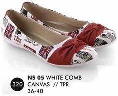 Sepatu Flat Wanita Casual Trendy [NS 05] (Brand Everflow) Free Ongkir